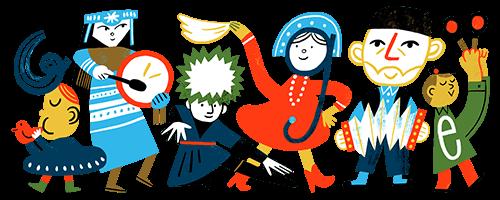 Google в часть праздника разместил заставку с татарином