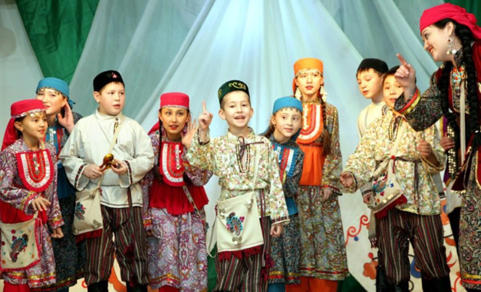 Татарские дети