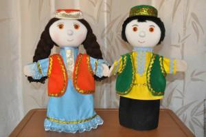 Татарские куклы Гумер и Гульбика
