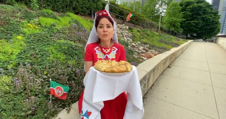 Татары Чикаго и Монреаля провели совместный онлайн-Сабантуй