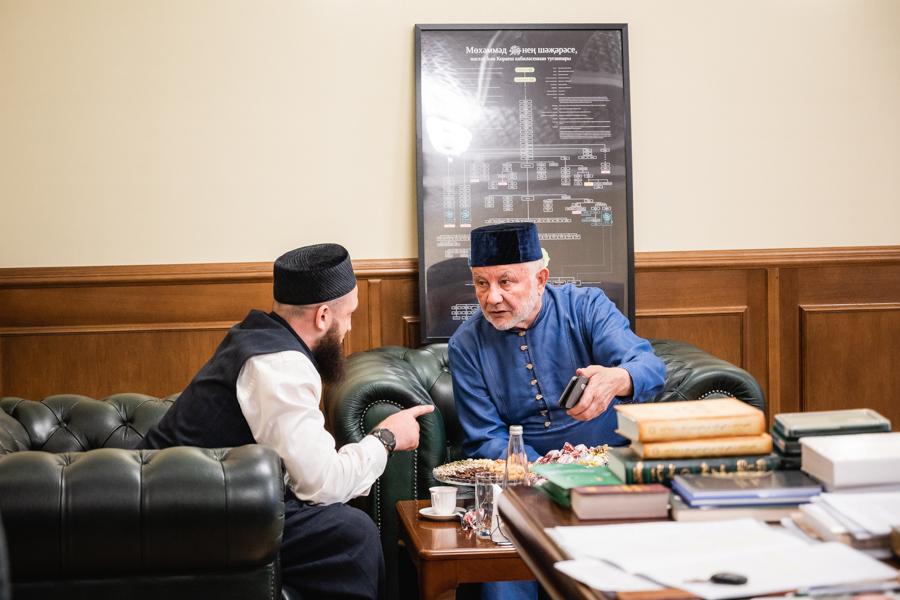 Фярит Ляпин и Камиль Самигуллин