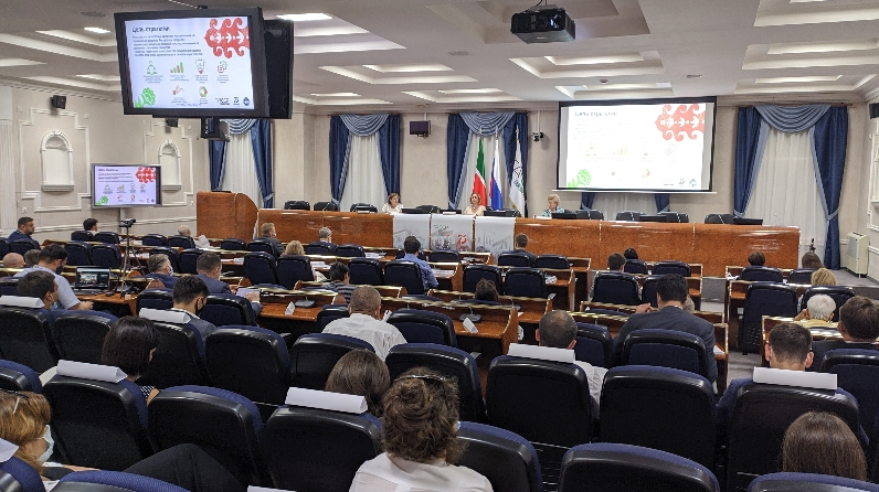 Cлушания по обсуждению Стратегии развития культуры Татарстана