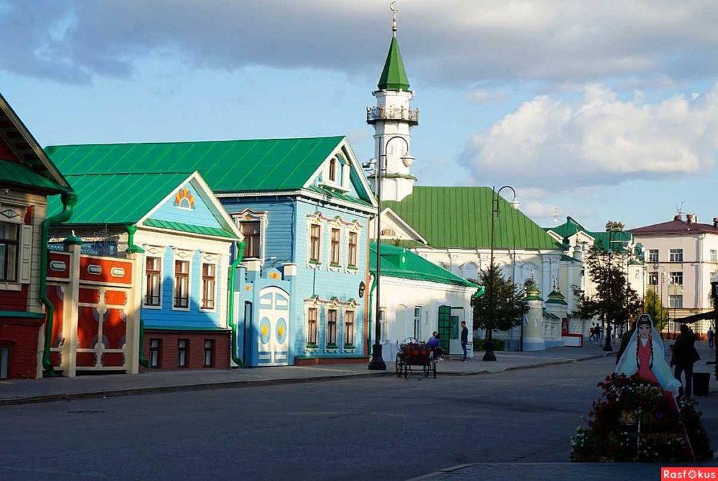 Старо-татарская слобода Казани