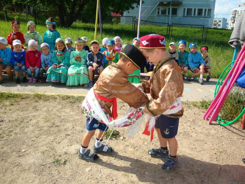 Татарские детские игры