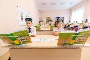 Татарские школьники
