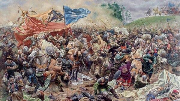 Битва на Тереке 15 апреля 1395 года