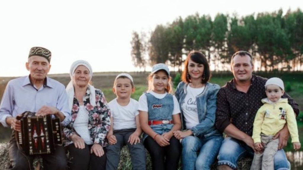 Семья Загидуллиных