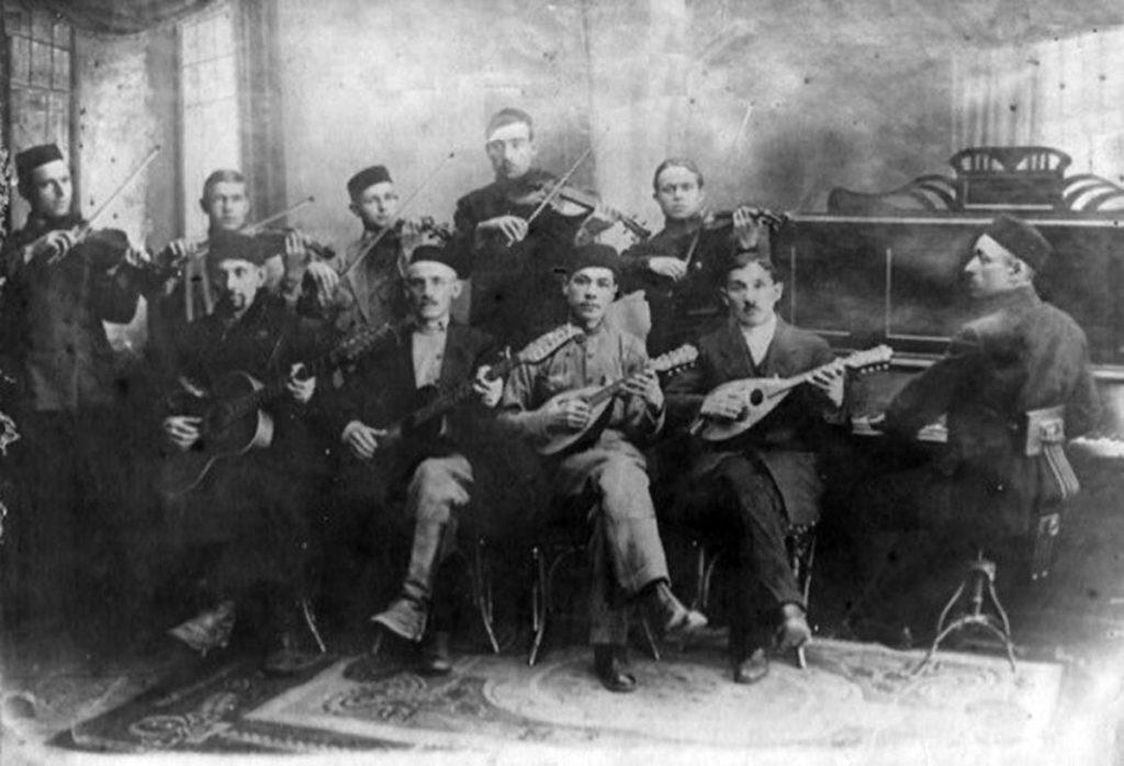 Татарский музыкальный ансамбль. Начало ХХ века
