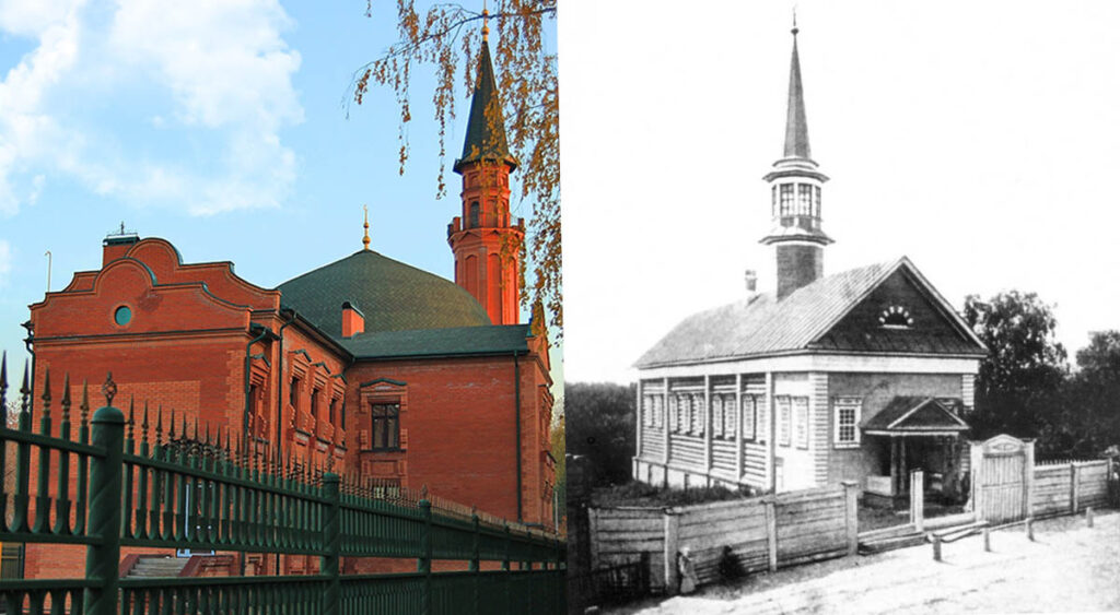 Мечети Биш-Балты Казань