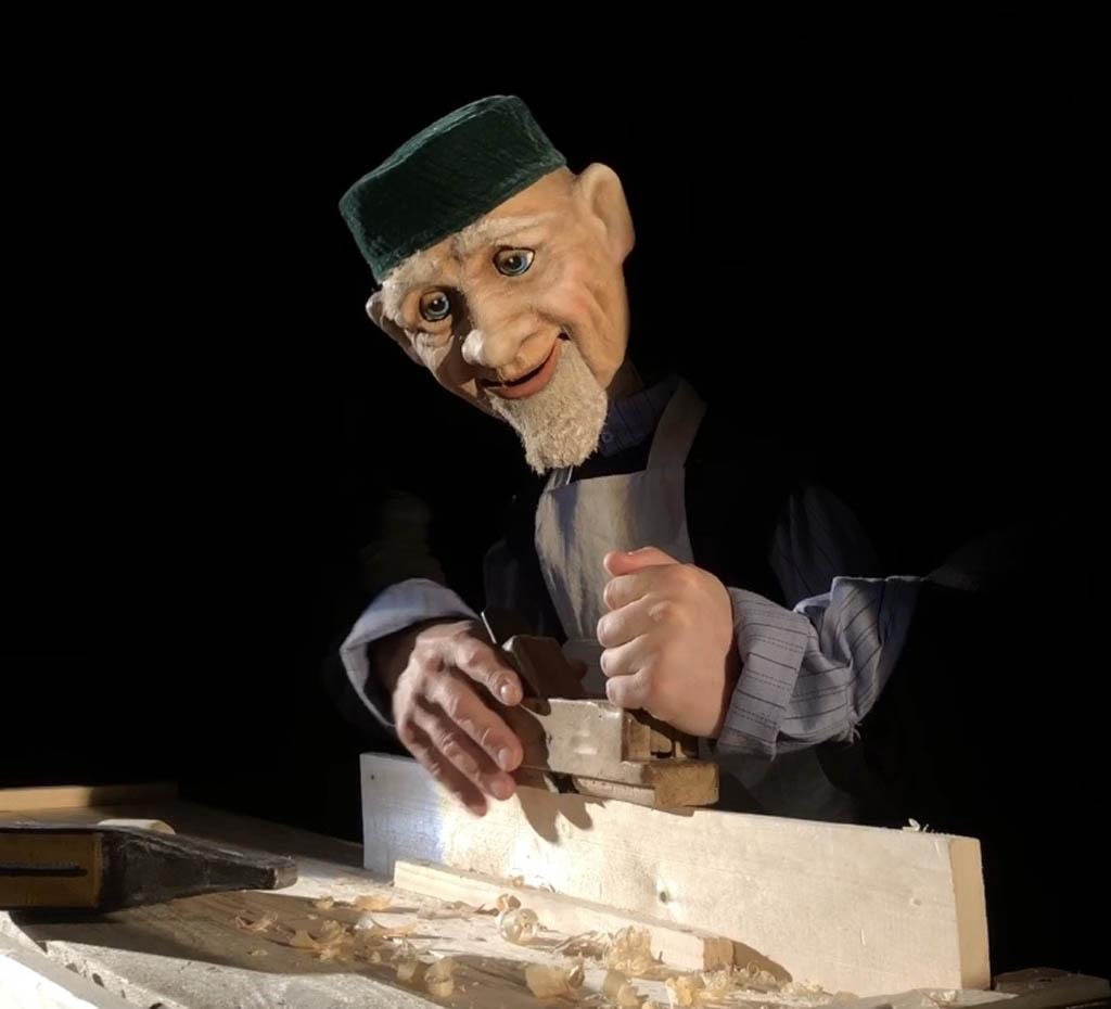 Старик из деревни Альдермеш