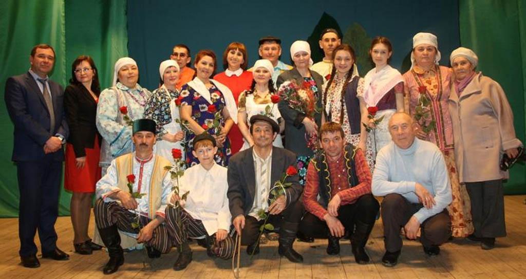 Камышлинскй татарский народный театр