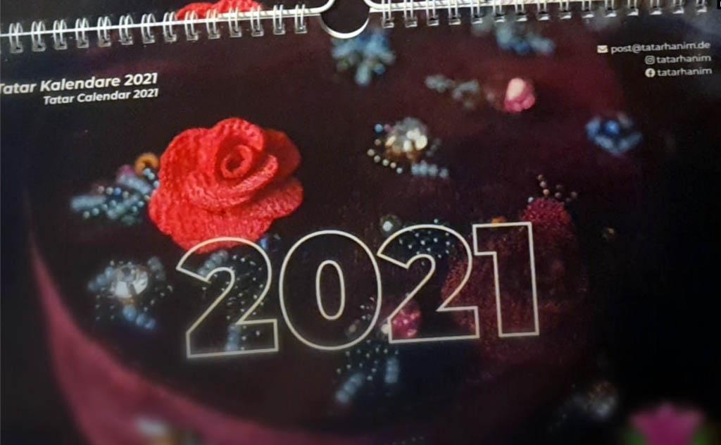 Татарский женский календарь Германия