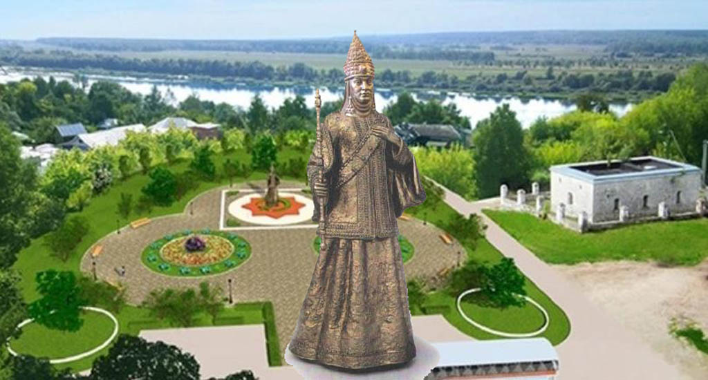 Памятник царице Сююмбике