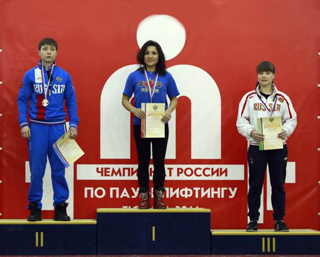 Татарские штангисты - чемпионы России по пауэрлифтингу