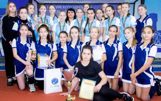 Сборная девушек Татарстана по хоккею на траве