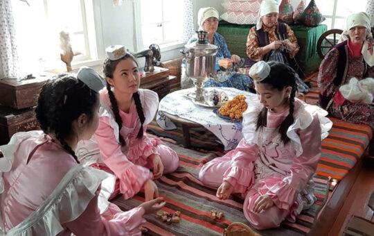 Усадьба сибирского татарина