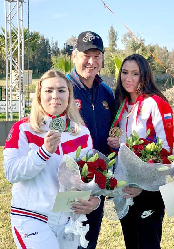 Зиля Батыршина и Алина Фазылзянова