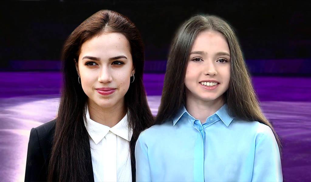 Алина Загитова и Камила Валиева