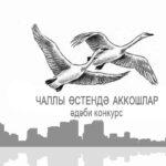 Стартовал литературный конкурс «Чаллы өстендә аккошлар»