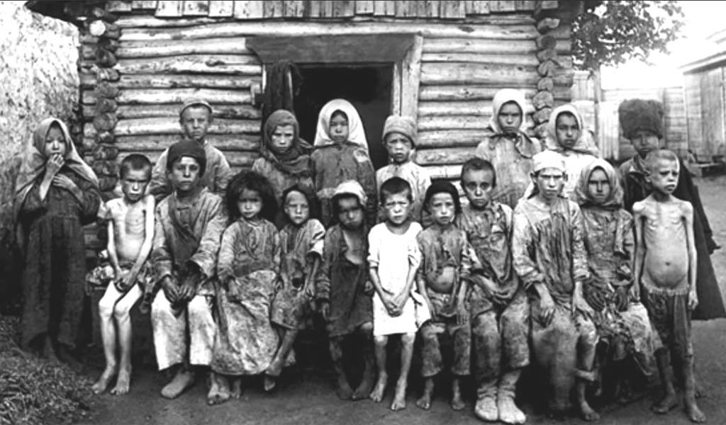 Голодомор в Поволжье 1921-1922