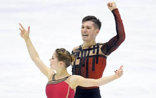 Александр Галлямов и Анастасия Мишина