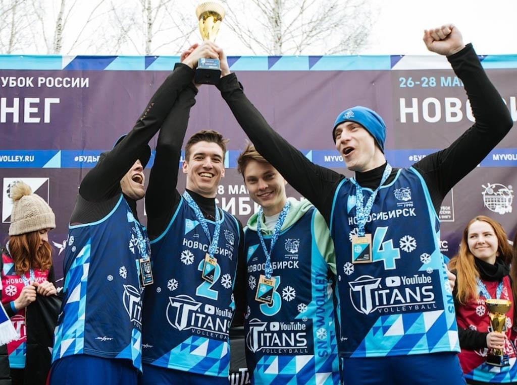 Сборная команда «Динамо-Татарстан» с Кубком