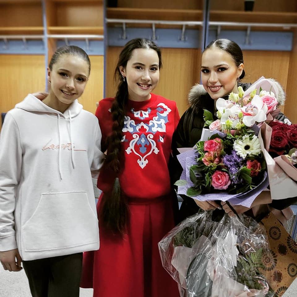 Камила Валиева, Саида Мухаметзянова, Алина Загитова
