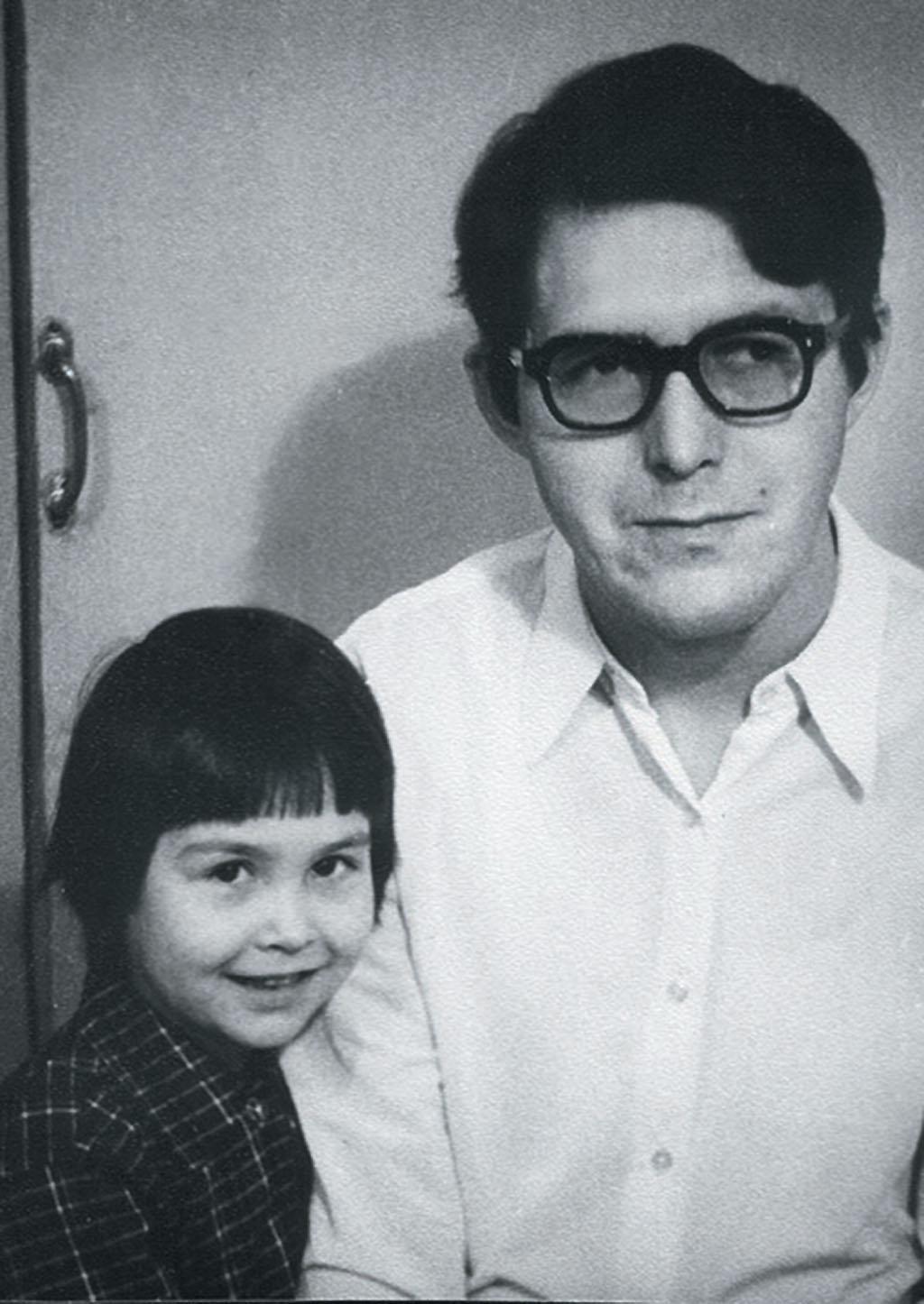 Шамиль Шарифуллин с дочкой Гузель